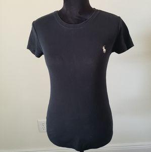 B2G1 Ralph Lauren Sport Black Logo Knit Tee